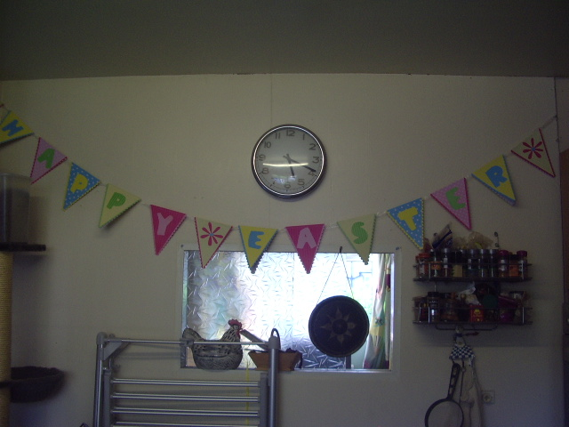 Pur Easter bunting - from Sainsburys no less!