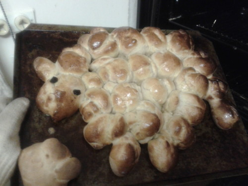 lamb bread