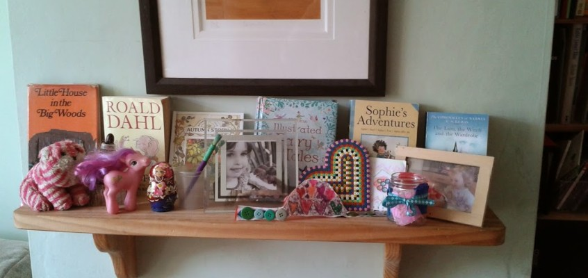 Birthday mantelpiece – Honouring your child's uniqueness