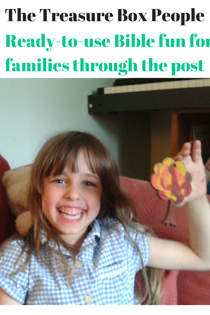 The Treasure Box People – bible activities for families